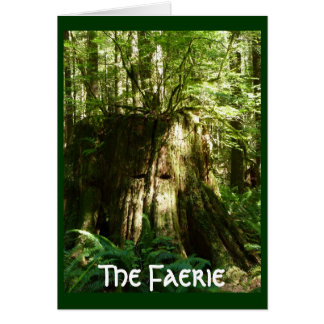 The Faerie - Tree Spirit Card