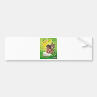 The faeries child bumper sticker