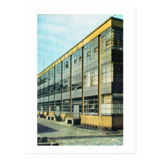The Fagus Shoe Factory, designed by Walter Gropius Postcard