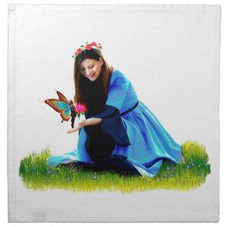 The Fairy and the Princess Napkin