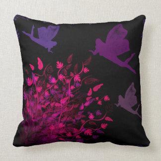 The Fairy Bush by Julie Everhart Cushion