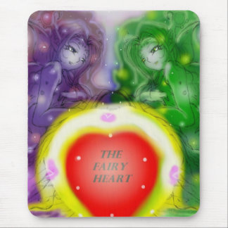 The Fairy Heart Mouse Pad