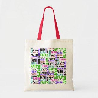 The faith tote bag #4