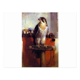 The Falcon by Edwin Henry Landseer Postcard