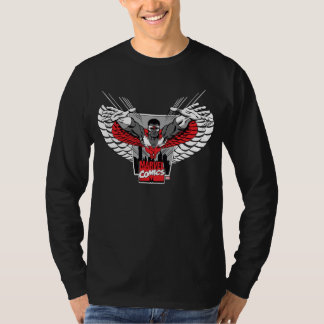 The Falcon Marvel Comics Badge T-Shirt
