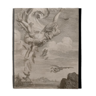 The Fall of Icarus, 1731 (engraving) iPad Folio Covers