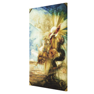 The Fall of Phaethon (w/c on paper) Canvas Print