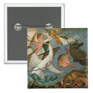 The Fall of the Rebel Angels, 1562 15 Cm Square Badge