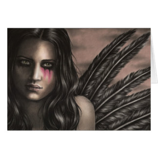 The Fallen Angel Greeting Card