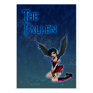 The Fallen Design Postcard