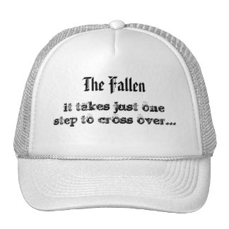 The Fallen, it takes just one step to cross ove... Cap