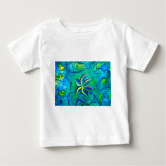 The Fallen One- Story of a flower, an abstract col Baby T-Shirt