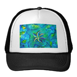 The Fallen One- Story of a flower, an abstract col Cap