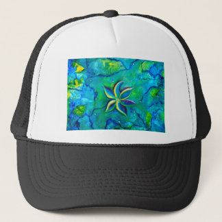 The Fallen One- Story of a flower, an abstract col Trucker Hat