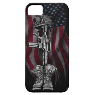 The Fallen Soldier iPhone 5 Cover
