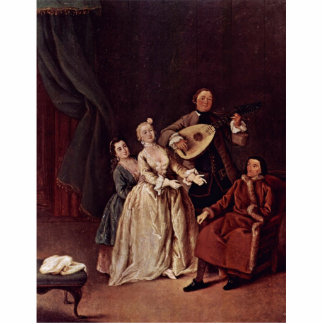 The Family Concert By Longhi Pietro (Best Quality) Cut Outs