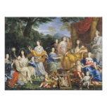 The Family of Louis XIV  1670 2 Poster