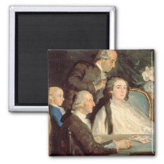 The Family of the Infante Don Luis de Borbon 2 Refrigerator Magnet