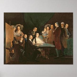 The Family of the Infante Don Luis de Borbon Poster