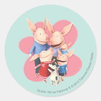 The Family Round Sticker