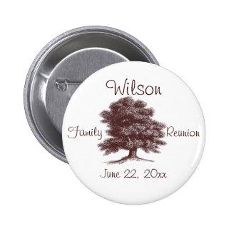 The Family Tree 6 Cm Round Badge