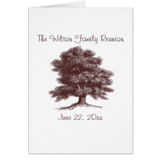 The Family Tree Card