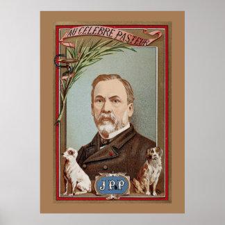 The Famous Louis Pasteur Portrait Historic Poster