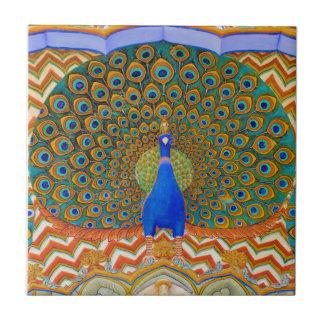 The Famous Peacock Gate Ceramic Tile