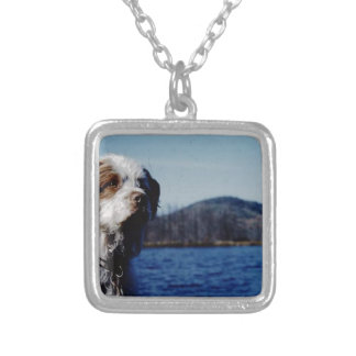 "The famous ""Pesky"" from Kellum Pond Silver Plated Necklace"