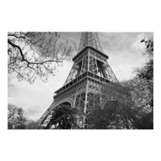 The Famous Tower on Canvas Poster