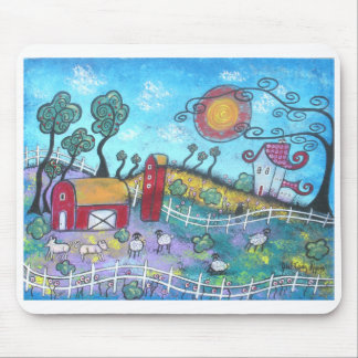 The Fanciful Farm Mouse Pad