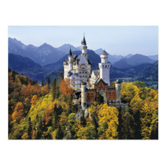 The fanciful Neuschwanstein is one of three Postcard