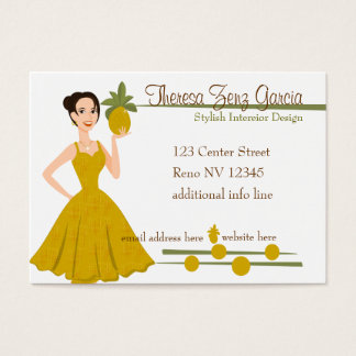 The Fantastic Pineapple Business Card