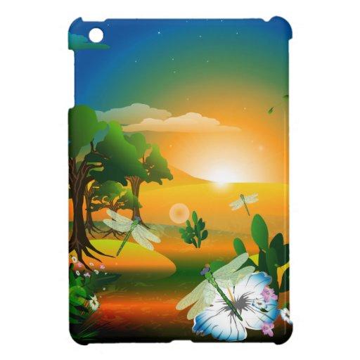 The fantasy world cover for the iPad mini
