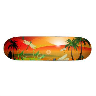 The fantasy world custom skate board