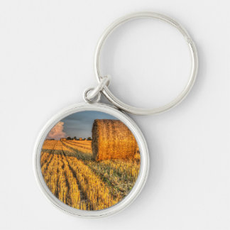 The farm and the face in the cloud keychain