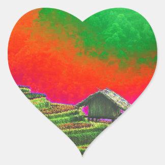 The Farm Heart Sticker