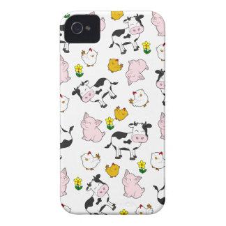The Farm Pattern iPhone 4 Case