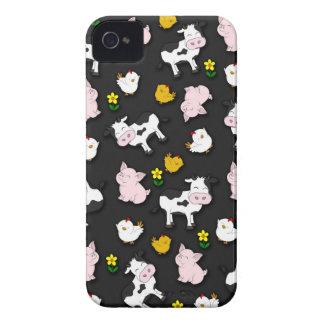 The Farm Pattern iPhone 4 Case-Mate Case