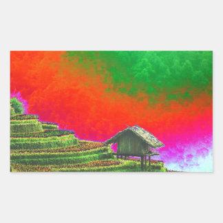 The Farm Rectangular Sticker