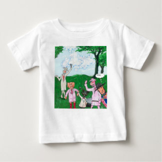 The Farmer Suspects Baby T-Shirt
