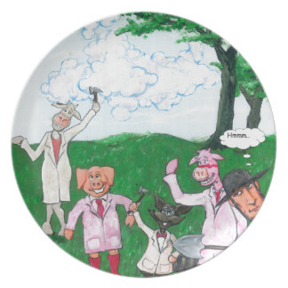 The Farmer Suspects Plate
