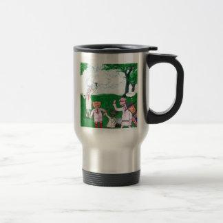 The Farmer Suspects Travel Mug