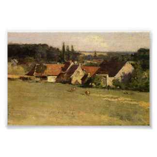 The Farmhouse Poster
