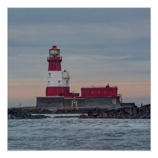 The Farne Islands lighthouse poster