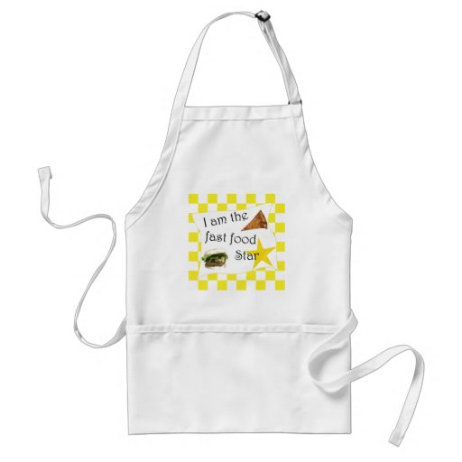 The Fast Food Star Aprons