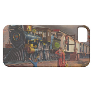 The Fast Mail Postal Service Train From 1875 Barely There iPhone 5 Case