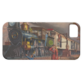 The Fast Mail Postal Service Train From 1875 iPhone 5 Cover