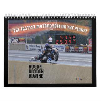 The Fastest Dragbike On The Planet II Calendar