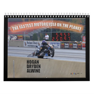 The Fastest Dragbike On The Planet... Sponsor Calendar